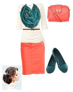 """""""Love these colors 2gether!!;)"""" by abbyrice2000 ❤ liked on Polyvore featuring NYDJ, Fat Face, Tasha and Dorothy Perkins"""