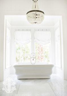 In Good Taste:  Leah Bailey Interior Design -Top of Shade - Cornice
