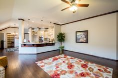 Living Room | Hardwood Floors | Lighting | Rugs | Kitchen | Ceiling Fans | Tile | Home Builders | Oklahoma City