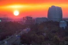 Zonsopkomst Zuidelijke Ringweg Groningen | Flickr - Photo Sharing!