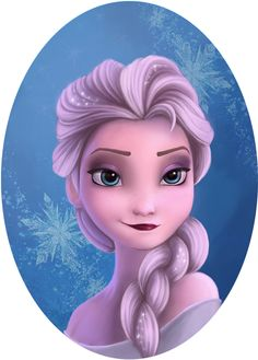 Frozen - Elsa by Fernanda Zabudowski, via Behance