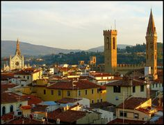 Torri e Campanili in Florence, Italy | Tuscany
