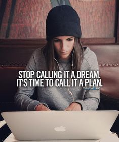 Start calling it what it is - a plan! #study #motivation #inspirationalquotes ★·.·´¯`·.·★ follow @motivation2study for daily inspiration