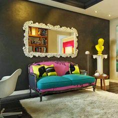 Decor Salteado - Blog de Decoração e Arquitetura : Pop Art e Toy Art na Decoração - alegre sua casa com essa tendência!