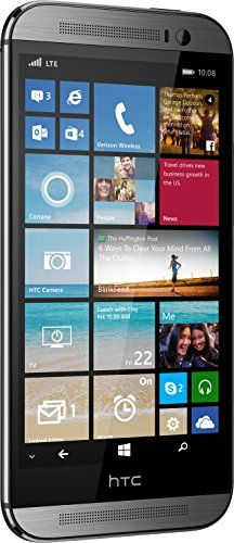 HTC One M8 for Windows, Gunmetal Grey 32GB (Verizon Wireless)  The HTC ONE (M8) Windows Phoneå 8.1 with Cortana, your personal digital assistant, Stunning design, HTC Duo Camera, HTC BoomSound, and more packed into an all metal unibody. Display: 5.0-inches Display: 5.0-inches Camera: HTC Duo Display: 5.0-inches Display: 5.0-inches Camera: HTC Duo Processor Speed: 2.3 GHz Display: 5.0-inches Display: 5.0-inches Camera: HTC Duo Display: 5.0-inches Display: 5.0-inches Camera: HTC Duo Pr..