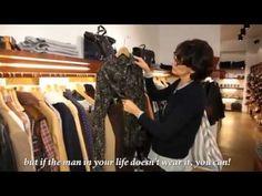 VIDEO /// More Christmas Shopping (part 2) with Ines de la Fressange