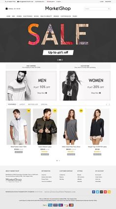 MarketShop is best Bootstrap #template for multipurpose #eCommerce #website with 4 stunning homepage layouts and great features. Download Now!