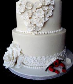 Deadpool wedding cake, neat!