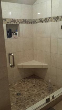 shower stall tile ideas bathrooms pinterest floral decore