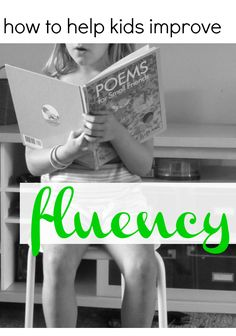 during read-alouds: improving reading fluency Easy, low-stress ways to help kids improve their fluent reading Reading Resources, Reading Strategies, Reading Activities, Reading Skills, Fluency Activities, Spelling Activities, Reading Games, 2nd Grade Reading, Kids Reading