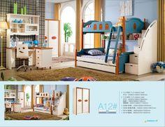 2016 Promotion Literas Bunk Beds Limited Wood Kindergarten Furniture Lit Enfants Meuble Childrens With Stairs Kids Bedroom Sets //Price: $US $527.00 & FREE Shipping //