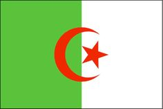 Crescent Moon Symbol on National Flags: Algeria