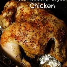 Tonight I decided to make a whole chicken for dinner. Instead of roasting I decided I would just season it, toss it in the Crock-Pot, and let it cook in it's own juices. The result was delish! The skin isn't quite as crisp as a store bought Rotisserie but Crockpot Dishes, Crock Pot Slow Cooker, Crock Pot Cooking, Slow Cooker Recipes, Crockpot Recipes, Cooking Recipes, Dinner Crockpot, Game Recipes, Cajun Recipes