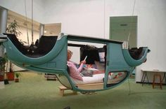 VW Hammock! How was I suppose to know to make a hammock out of my car?
