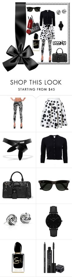 """""""Make Your Own Style"""" by klm62 ❤ liked on Polyvore featuring Étoile Isabel Marant, Oscar de la Renta, Loewe, Ray-Ban, Blue Nile, CLUSE, Giorgio Armani and Rodial"""