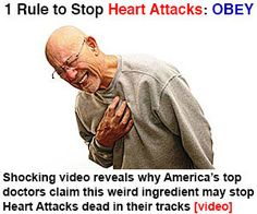 1 Rule to Stop Heart Attacks, OBEY: Marine-D3. ... Pills, Morningaft Pills, Heart Attack, Omega 6 Oil, Libyan Attack, Sotomayor Rules http://amazingbrandsreviews.com/base.php?c=81&key=16dbb61eec5ec35d4899dfd19294fbe4&keyword={keyword}&ad=