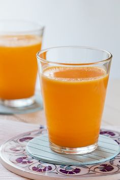 Сок от портокал, лимон, морков, краставица плюс джинджифил, куркума и лют пипер - против възпаление