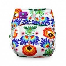 """Milovia ONE SIZE cloth Diapers withCoolmaxlining are ideal for warm weather diapering and optimumventilation The inner fabric is soft, silky Coolmax – a high quality European textile. Coolmax provides maximum air circulation, gently """"informs"""" the child about wetting, and is durable throughout your family's diapering needs. Coolmax dries quickly and is resistant to stains.Inserts are sold separatelyMilovia products are made entirely of European materials engineered - from the very…"""