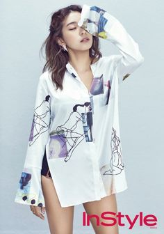 "SISTAR's Bora Takes Colors to the Next Level with ""InStyle"" Magazine 