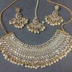 a300a93a7 @glimour_jewellery — Glimour Jewellery. Indian EarringsIndian JewelryJewelry  SetsGold ...
