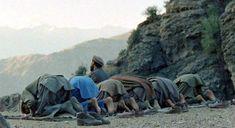 Mujahideen prayer in Shultan Valley Kunar, 1987 - Jihadism - Wikipedia, the free encyclopedia