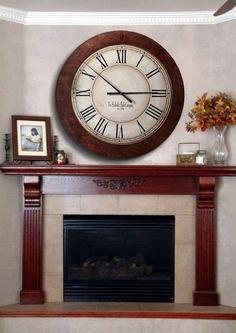 huge wall clocks the shillville clock company extra large