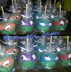bella_dolce_delights, Candy Apples Halloween Candy Apples, Gourmet Apples, Caramel Apples, Regrets, Party Favors, Cupcakes, Parties, Yummy Food, Sweets