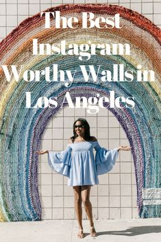 The most Instagramable Walls In Los Angeles #wallart #losangeles #instagram 7 Instagram Worthy Wall In Los Angeles You Need to See https://www.busywifebusylife.com/fashion/mylooks/instagram-worthy-walls-in-los-angeles/