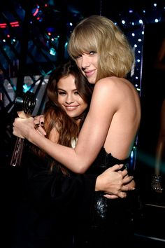 Pin for Later: Taylor and Selena's Sweetest BFF Moments Through the Years When They Hugged It Out at the iHeartRadio Music Awards Following Taylor's big win at the iHeartRadio Music Awards in April 2016, the ladies shared a sweet hug backstage.