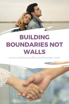 Couples often mistake what building boundaries not walls means in their marriage. Especially when one spouse realizes that they need boundaries with their spouse. This video will help guide you to set those healthy boundaries without putting up walls. Good Marriage, Marriage Tips, Happy Marriage, Mixed Families, Relationship Goals, Thankful, Walls, Parenting, Group
