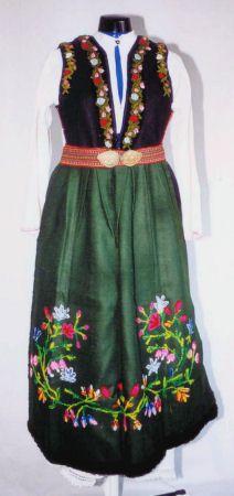 Bulgarian national costumes: Northern Bulgaria costume-Vidin region