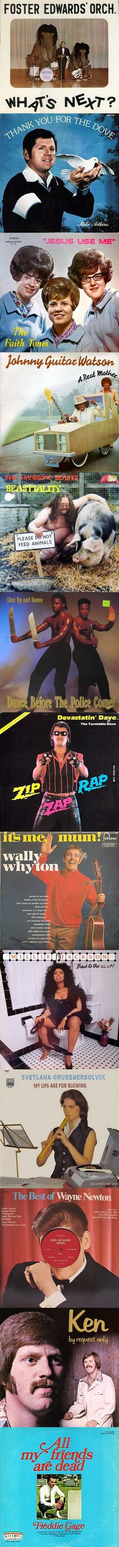 Worst Album Covers of All Time