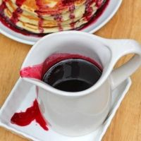 "Blackberry Syrup For Canning Recipe- Im drooling just thinking about it! (going to use half black raspberries & half black berries to make ""blackerberry syrup"" : o )"