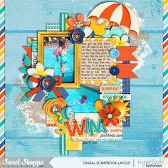 I Heart Water by Jady Day Studio, Digilicious Design, Lliella Design & Melissa Bennett Half Pack 134 by Cindy Schneider ·