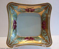 Antique German Porcelain Serving Bowl Dish Lorenz Hutschenreuther Selb Bavaria   eBay