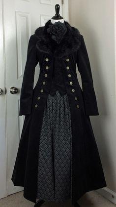 """porphyria-ashenden: """" Atelier Boz jacket; Innocent World skirt. """""""