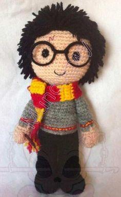 Patrón de Harry Potter Amigurumi
