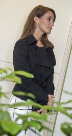 Princess Marie of Denmark inaugurated a center for the elderly with autism in Hinnerup, a small town in Jutland. Princess Marie is patron of the National Association of Autism in Denmark. Oct. 14, 2014.