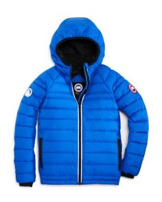 Canada Goose Boys' Sherwood Hooded Puffer Jacket - Sizes S-XL | Bloomingdale's