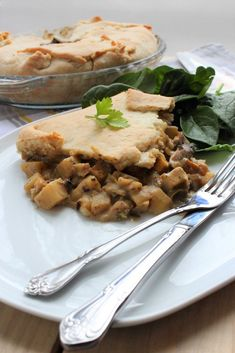 Raw Food Recipes, Cooking Recipes, Healthy Recipes, Healthy Meals, Seitan, Mets, Pot Pie, Spanakopita, Raw Vegan