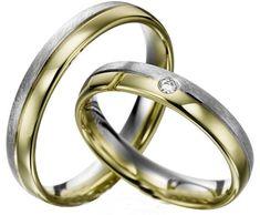 Verighete aur alb si aur galben MDV176 #verighete #verighete3mm #verigheteaur #verigheteauraplicatie #magazinuldeverighete Aur, 50 Euro, Bangles, Bracelets, Wedding Rings, Engagement Rings, Model, Jewelry, Crystal