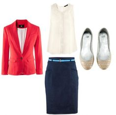 Job interview outfit, courtesy of College Fashion.