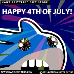 Happy 4th of July! Enjoy the fireworks!