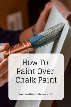 How to paint over chalk paint by Lost and Found Decor repurposed furniture, painted furniture, diy furniture home decor DIY project Before and After Diy Projects For Bedroom, Diy Furniture Projects, Furniture Makeover, Repurposed Furniture, Rustic Furniture, Outdoor Furniture, Furniture Redo, Furniture Outlet, Furniture Design
