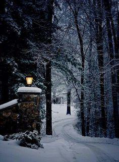 Winter Szenen, Winter Love, Winter Magic, Winter Christmas, Winter Night, Prim Christmas, Christmas Scenes, Winter Season, Christmas Lights