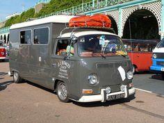 VW Volkswagen Bus camper