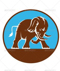 VECTOR DOWNLOAD (.ai, .psd) :: http://jquery-css.de/pinterest-itmid-1001669085i.html ... Angry African Elephant Charging Retro ...  African elephant, animal, attacking, charging, elephant, illustration, pachyderm, retro, vector, wildlife  ... Vectors Graphics Design Illustration Isolated Vector Templates Textures Stock Business Realistic eCommerce Wordpress Infographics Element Print Webdesign ... DOWNLOAD :: http://jquery-css.de/pinterest-itmid-1001669085i.html