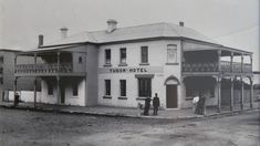 Hotel Bennett at Hamilton in New South Wales in 1885 as the Tudor Hotel.