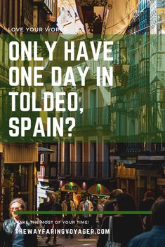 This Toledo, Spain itinerary will give you all the tools you need to spend the perfect day exploring this rich and historical city. Time Travel, Travel Tips, Toledo Spain, Spanish Culture, Europe Destinations, Moorish, Travel Quotes, Trip Planning, Love You