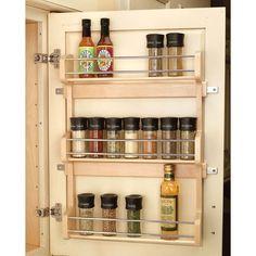 spice rack chris spice racks pinterest shelves doors and rh pinterest com spice rack to fit inside cupboard door spice rack to fit inside cupboard door